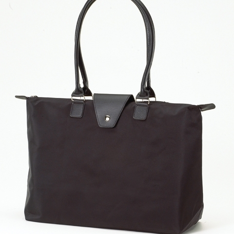 Joann Marrie Designs NF3BL2 Long Handle Fold-Up Bag - Black and Black Pack of 2 чехол для планшета port designs phoenix iv pack 7 black