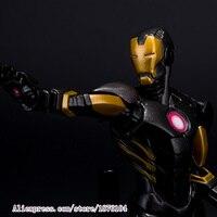 23 cm O Vingador Super-heróis Homem De Ferro Tony Stark Age Of Ultron Loucos Brinquedos Figura Com Nova Caixa