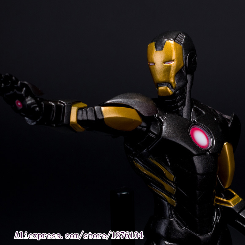 23cm The Avenger Superhero Iron Man Tony Stark Age Of Ultron Crazy Toys Figure With New Box 1set hot toys hottoys ht mms209 1 6 iron man tony stark the mechanic collectible figure specification new box in stock