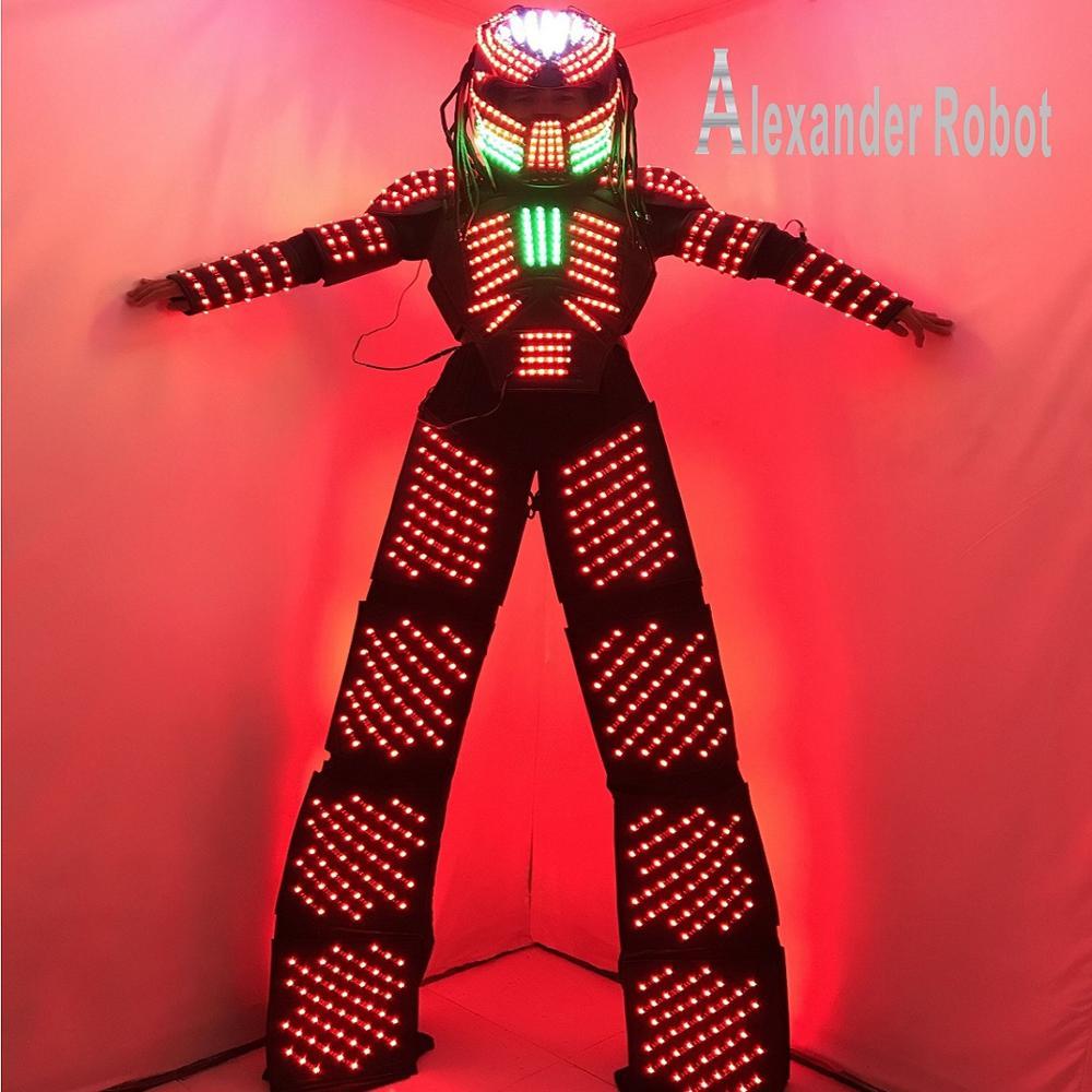 Robot-vêtements légers/Costumes de LED/vêtements de LED/Costumes de Robot de LED