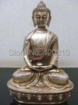 Tibet copper AMITABHA SHAKYAMUNI buddha statue