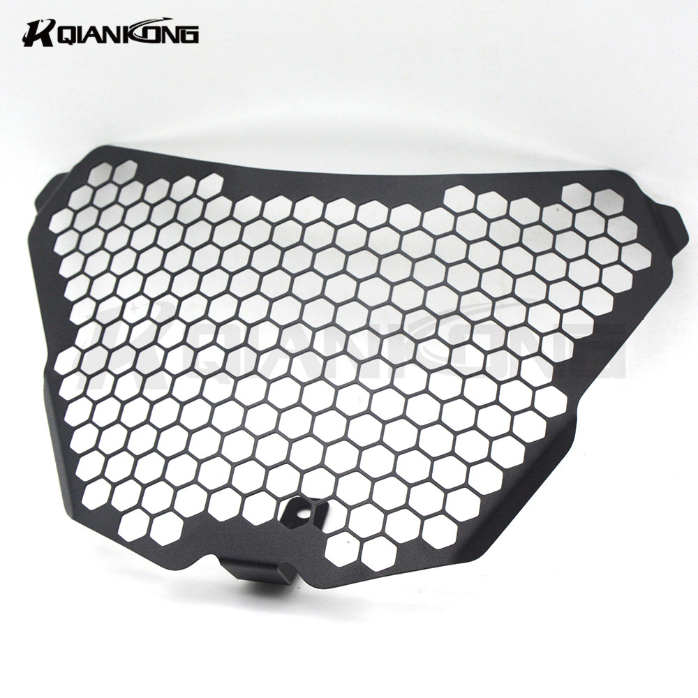 For KTM RC125 RC200 RC390 2014-2016 Motorcycle AccessorieS motorcycle headlight grill headlamp protector Cover grill guards for ktm logo 125 200 390 690 duke rc 200 390 motorcycle accessories cnc engine oil filter cover cap