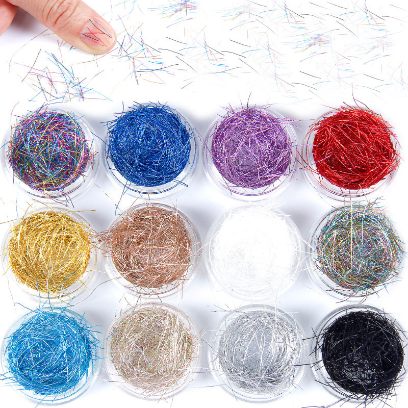 12 colors professional nail art decoration set gold wire lines delicate mesh lines unique nail art accessories professional welding wire feeder 24v wire feed assembly 0 8 1 0mm 03 04 detault wire feeder mig mag welding machine ssj 18