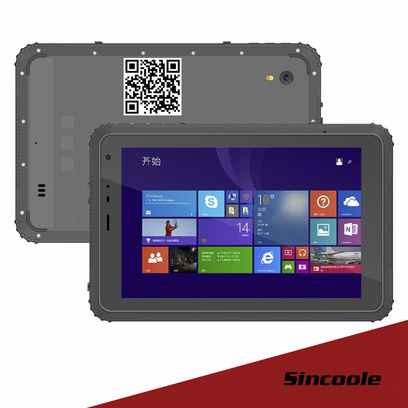 8 Inch  RAM 2GB ROM 32GB Windows 10 Home Rugged Industrial Tablets PC