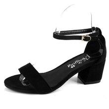 2017 Sexy Frauen Pumpt Wildleder Offene spitze Knöchelriemen Heels Sandalen Frauen Sandalen Platz Mit Frauen Schuhe Frauen High heels