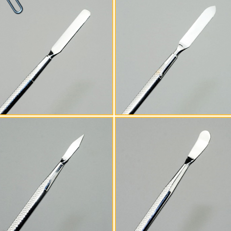 18cm MOBILEACCESSORIES for jodnn dian TENGLIN Professional Mobile Phone//Tablet PC Metal Disassembly Rods Repairing Tool Silver Length