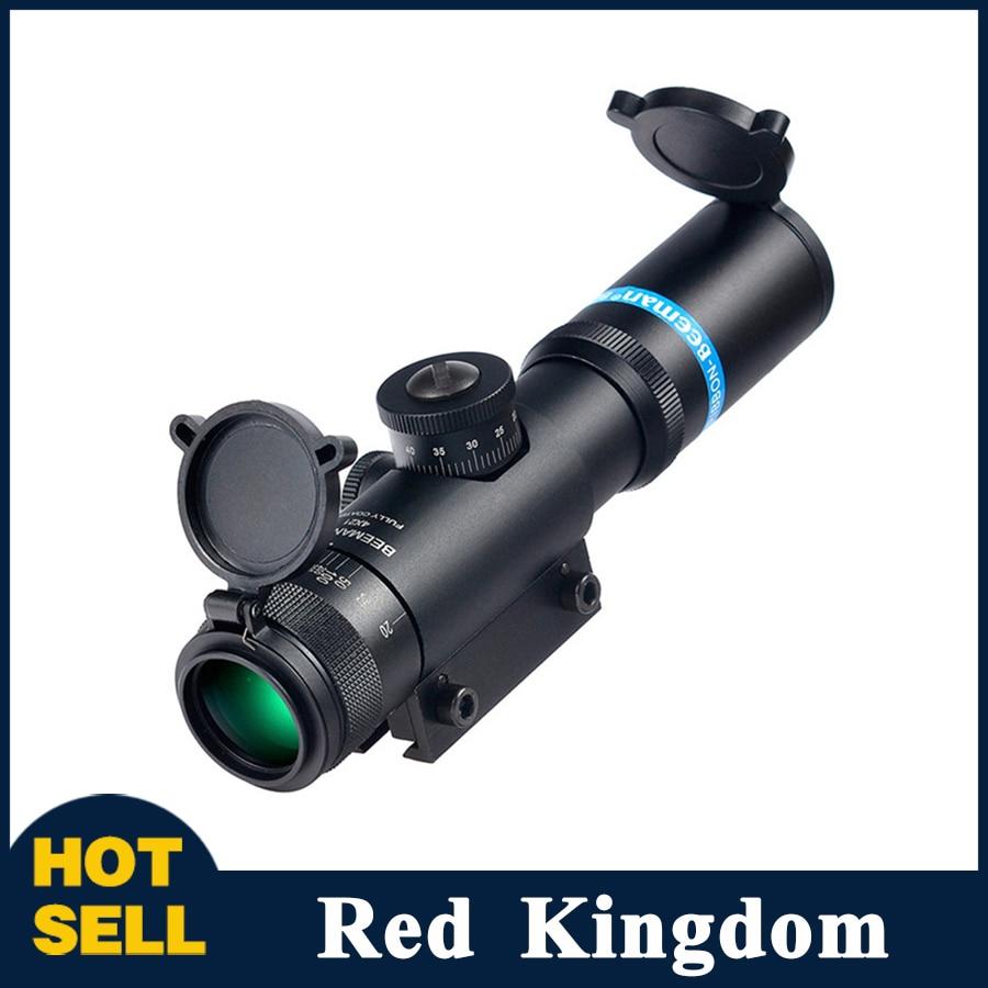 ФОТО EB SS2 4X21 AO Dovetail Fully multi-coated Optics Hunting Riflescope Tactical Sights Adjustable Objective Rifle Scope