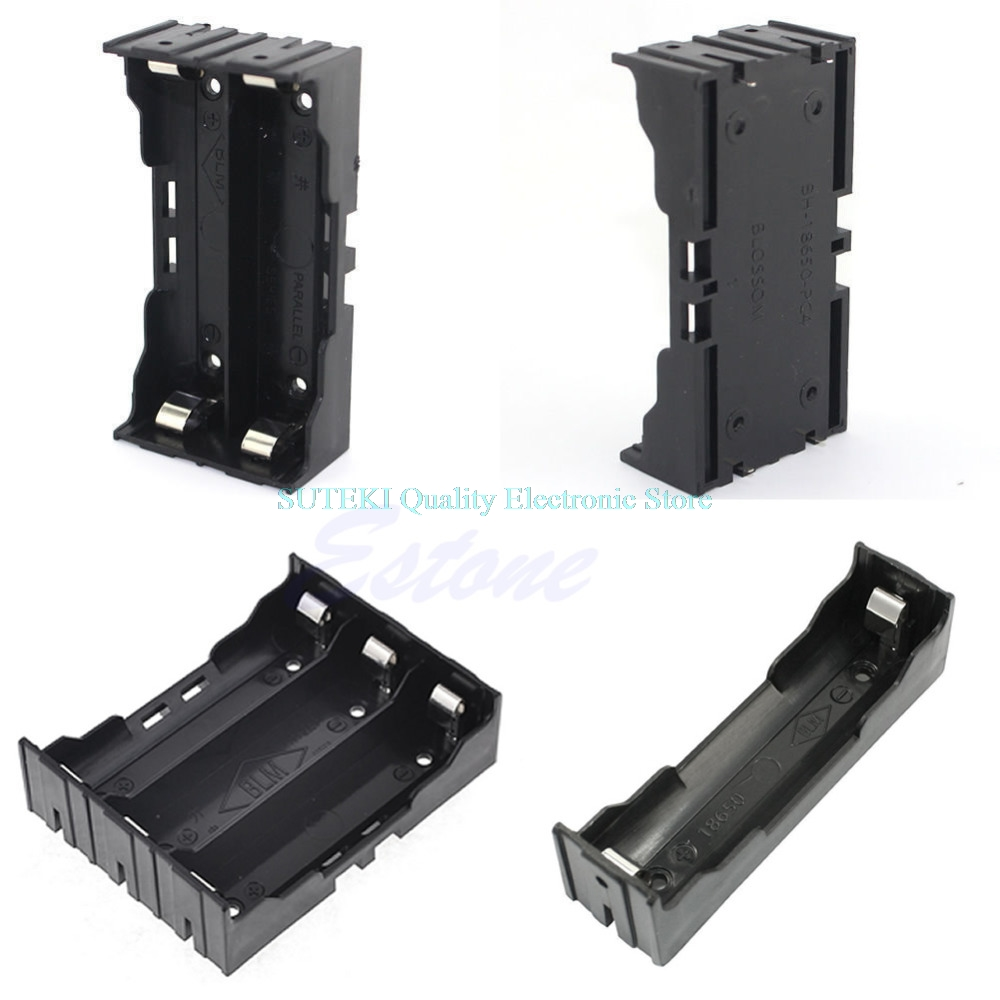 Battery Case Holder Storage Box For 18650 Rechargeable Battery 3.7V DIY High Quality