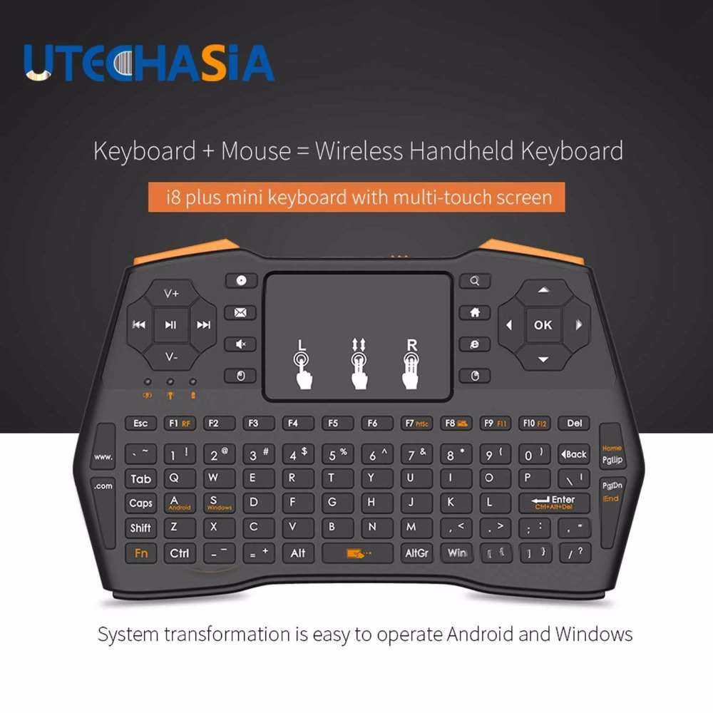 wireless keyboard i8 plus handheld 2 4g mini gaming air keyboard touchpad for android google. Black Bedroom Furniture Sets. Home Design Ideas