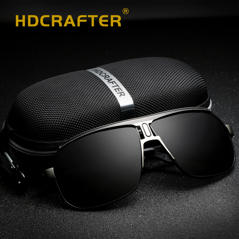 Novo piloto óculos de sol homens polarizados uv400 alta qualidade moda condução óculos de sol para masculino gafas de sol hombres óculos vintage