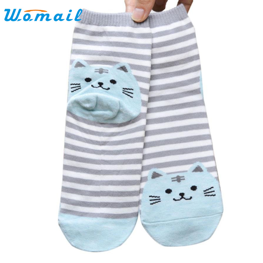 SIF Hot 1 Pair 3D Animals Style Striped Fashion Cartoon s