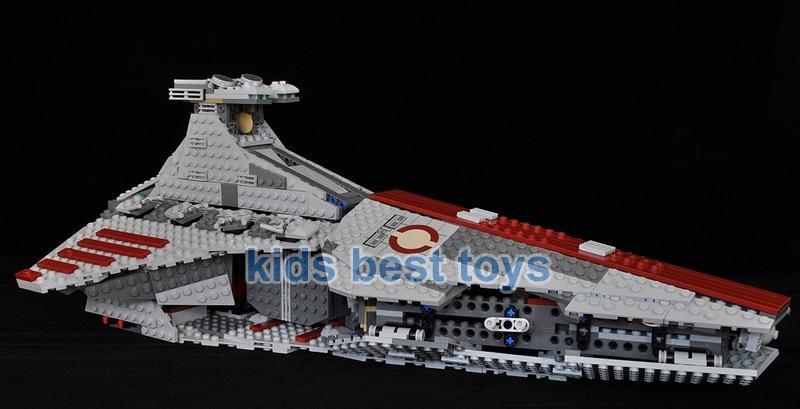 Star Wars Venator Class Republic Attack Cruiser DIY Building Brick ...