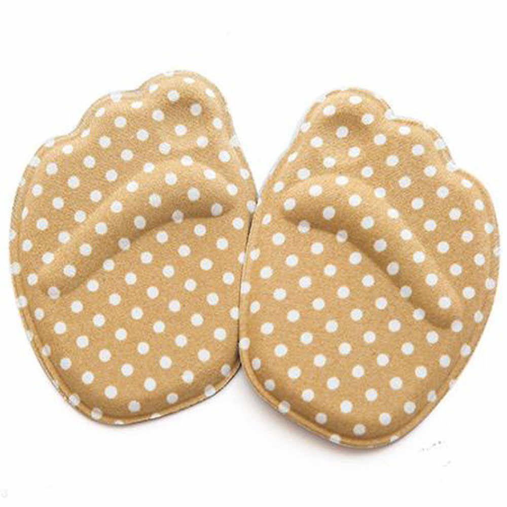 Fashion Sole High Heel Foot Cushions Forefoot Anti-Slip Insole Breathable Shoes Pad Soft Comfortable Braces & Supports