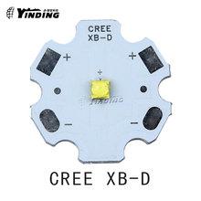 10pcs Cree XLamp XB-D XBD Q5 Warm Cold Neutral White/Red/Blue/Green/Yellow 3W Hight Power LED Emitter with PCB heatsink