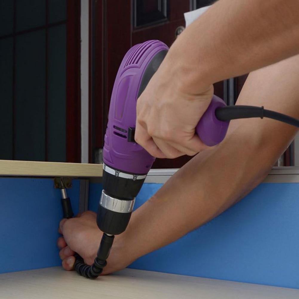 1/4 Eje flexible Taladro electrónico Destornillador multiherramienta - Accesorios para herramientas eléctricas - foto 2