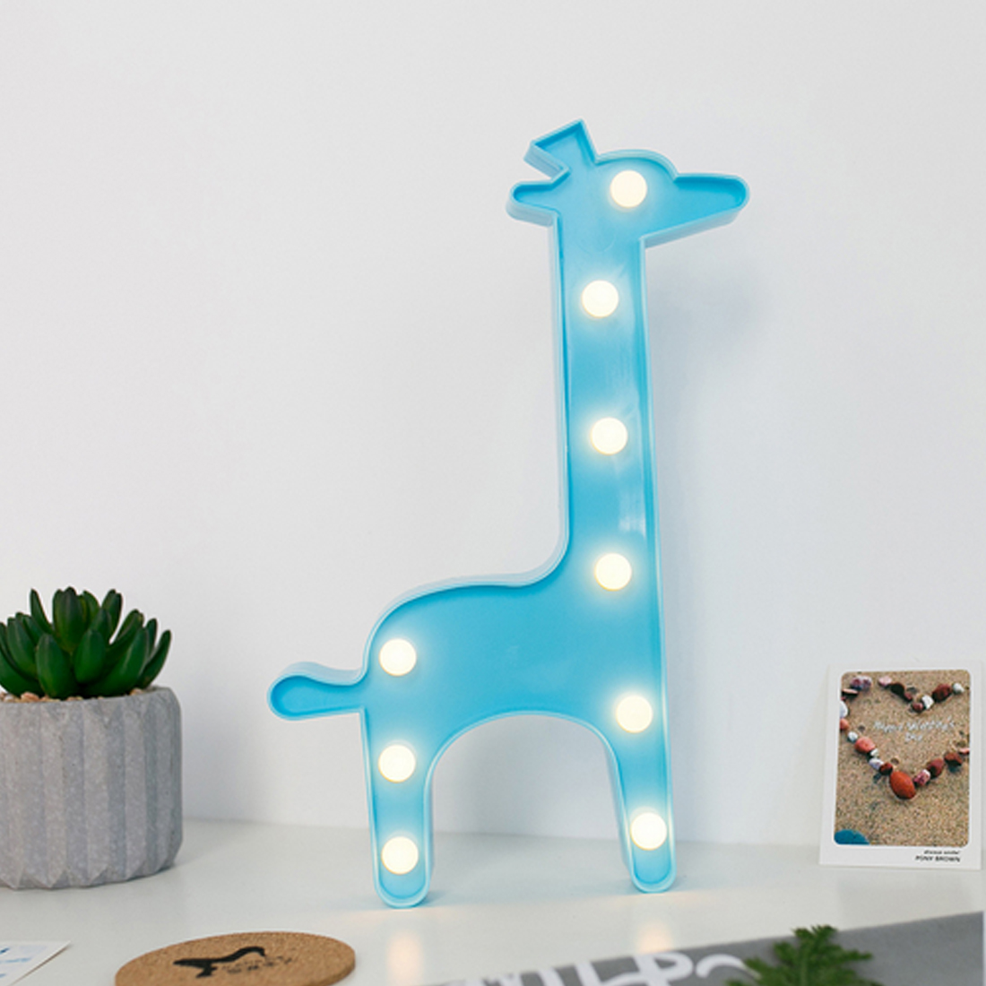 3D LED Night Lights Cartoon Giraffe Christmas Tree Coconut Tree Nightlight Desk Night Lamp For Baby Kids Bedroom Decoration3D LED Night Lights Cartoon Giraffe Christmas Tree Coconut Tree Nightlight Desk Night Lamp For Baby Kids Bedroom Decoration