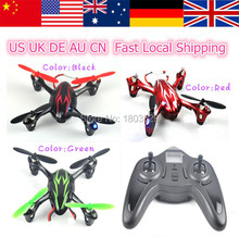 Free Shipping Hot Sell Genuine Hubsan H107 X4 H107L Mini Drone 2.4GHz RC Micro Quadcopter with HD 2MP camera Gyro RTF vs H107d
