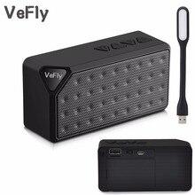 Vefly мини Портативный smart bluetooth Динамик, беспроводной Колонки fm-радио Аудио режим плеера столбец с карты памяти usb-накопитель