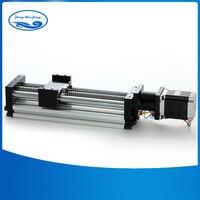 Линейные рельсы ЧПУ направляющий рельс 16 мм линейные направляющие для активного хода 300 мм 3A 23 nama шаговый двигатель