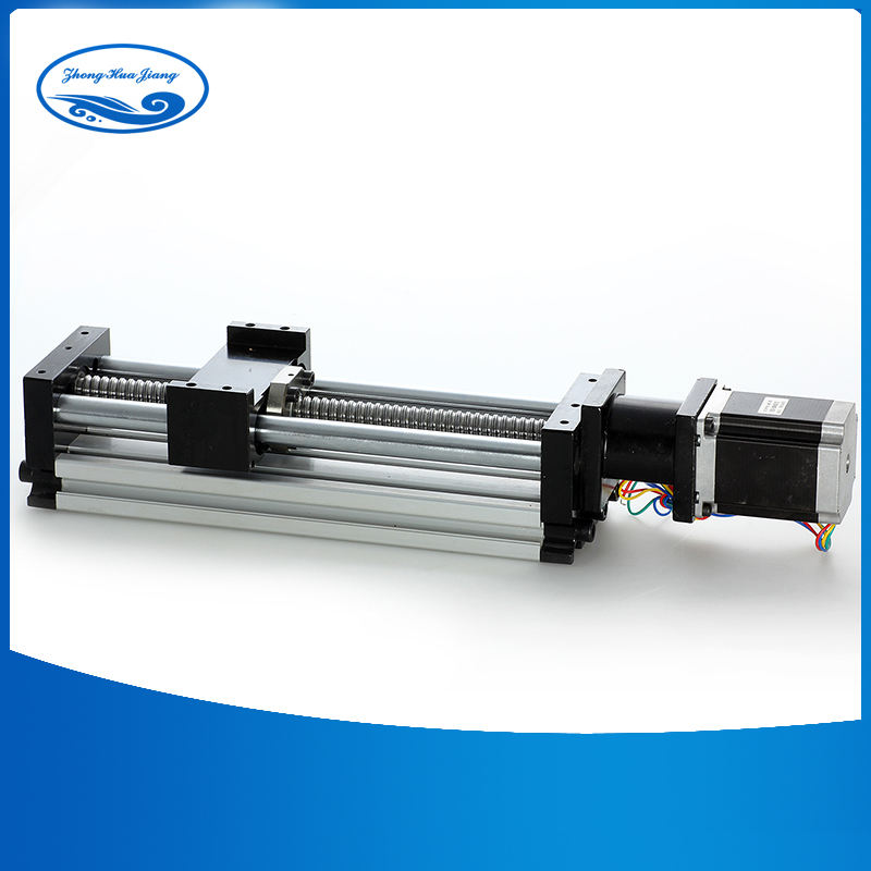 linear rails cnc guide rail 16mm linear guides effective stroke 300mm 3A 23nama stepper motor