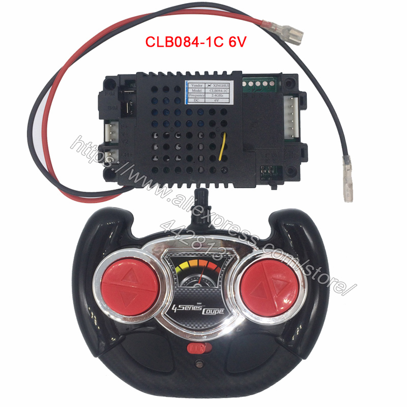 Image 3 - CLB084 4D children's electric car 2.4G remote control receiver controller,12V and 6V CLB transmitter for baby car-in Parts & Accessories from Toys & Hobbies