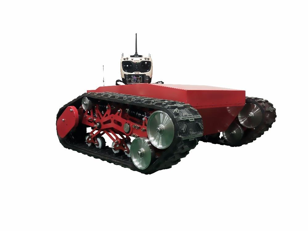 Lernspielzeug Neue 260 Motor Transformation Tankwagen Chassis Track Crawler für Arduino