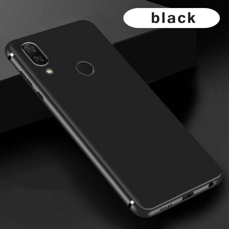 Ultra thin solid color silicone case for Huawei honor 10 lite funda coque hoesje matte frosted tpu cover kryt tok etui carcasa