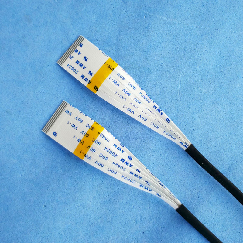 Flat Flex Ribbon Cable : Flex cable pin ribbon cables mm pitch long a b