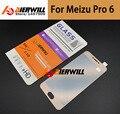 Для Meizu Pro 6 Полный Закаленное Стекло 2.5D + 9 H Anti-explosion Полное Покрытие Экрана Протектор Пленка Для Meizu Pro 6 телефон