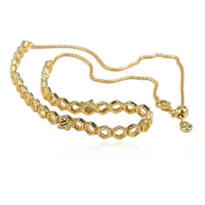 Haute qualité 925 accessoires en argent sterling Europe et amérique le nouveau collier fête des mères le nouveau collier femmes abeille dorée