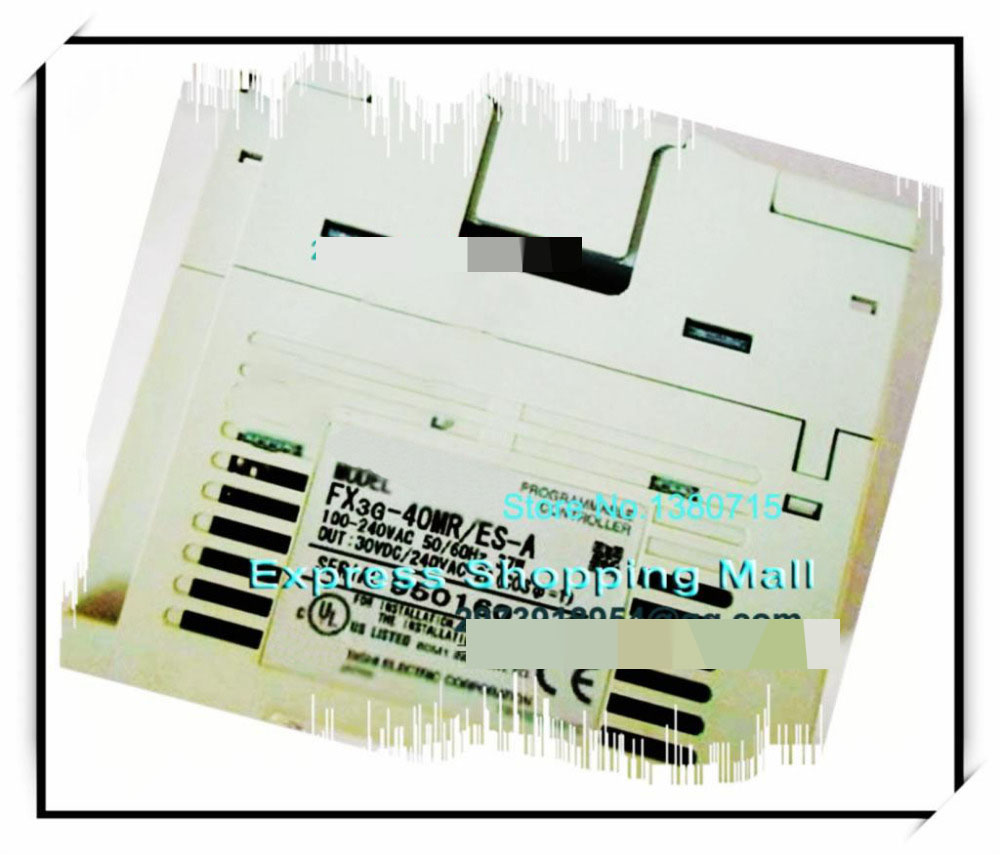 все цены на  New Original FX3G-40MR/ES-A PLC Main Unit DI 24 DO 16 Relay 100 to 240V AC  онлайн