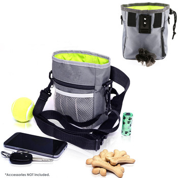 2019 New Outdoor Pet Dog Treat Training Pouch Bag Snack Food Bag Dispenser 3 Ways To Wear 1