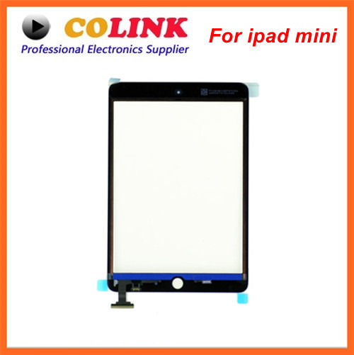 For ipad mini Touch Screen Digitizer Free Shipping White black Color New Original High Quality