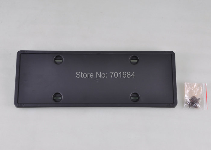 Free Shipping For Jeep Grand Cherokee 2011 Front License Plate Base Black PPT Plastic Practical [QPA162]