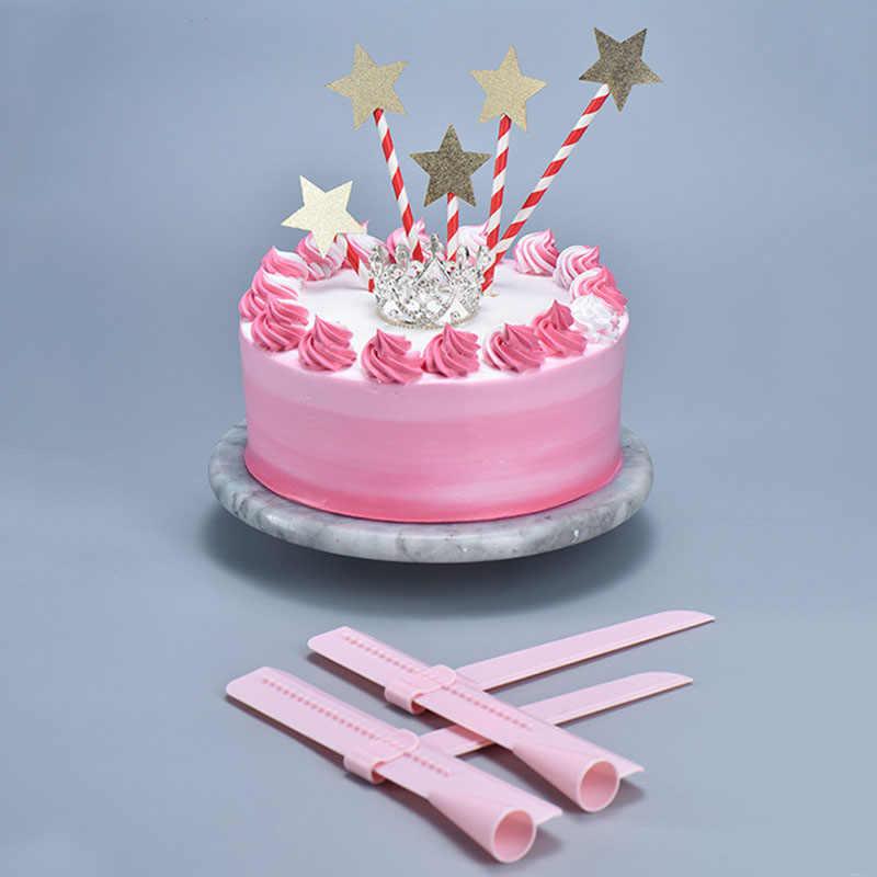 Торт скребок плавное Регулируемый помадка шпатели поворота сахар выравнивания устройства украшения торта инструменты Еда Класс Кондитерские