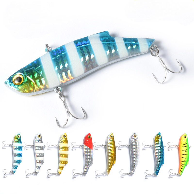 1pc 28g Sinking VIB Fishing Lure Artificial Bait Vibration Wobbler Winter Ice Full Swimming Layer 9cm Lures Hard Baits Bass