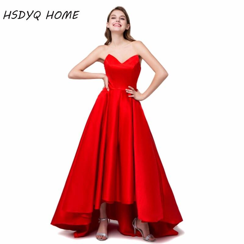 Red Long Elegant   Prom   evening   Dresses   Sexy Slimming Stylish Shining Floor Length   Prom     Dress   2018