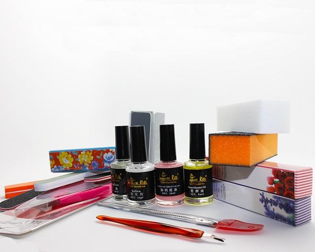 17pcs/set Nail Buffers Callus Shavers Cuticle Pushers Scissors Files Treatments Art Equipment Tool Set Kit