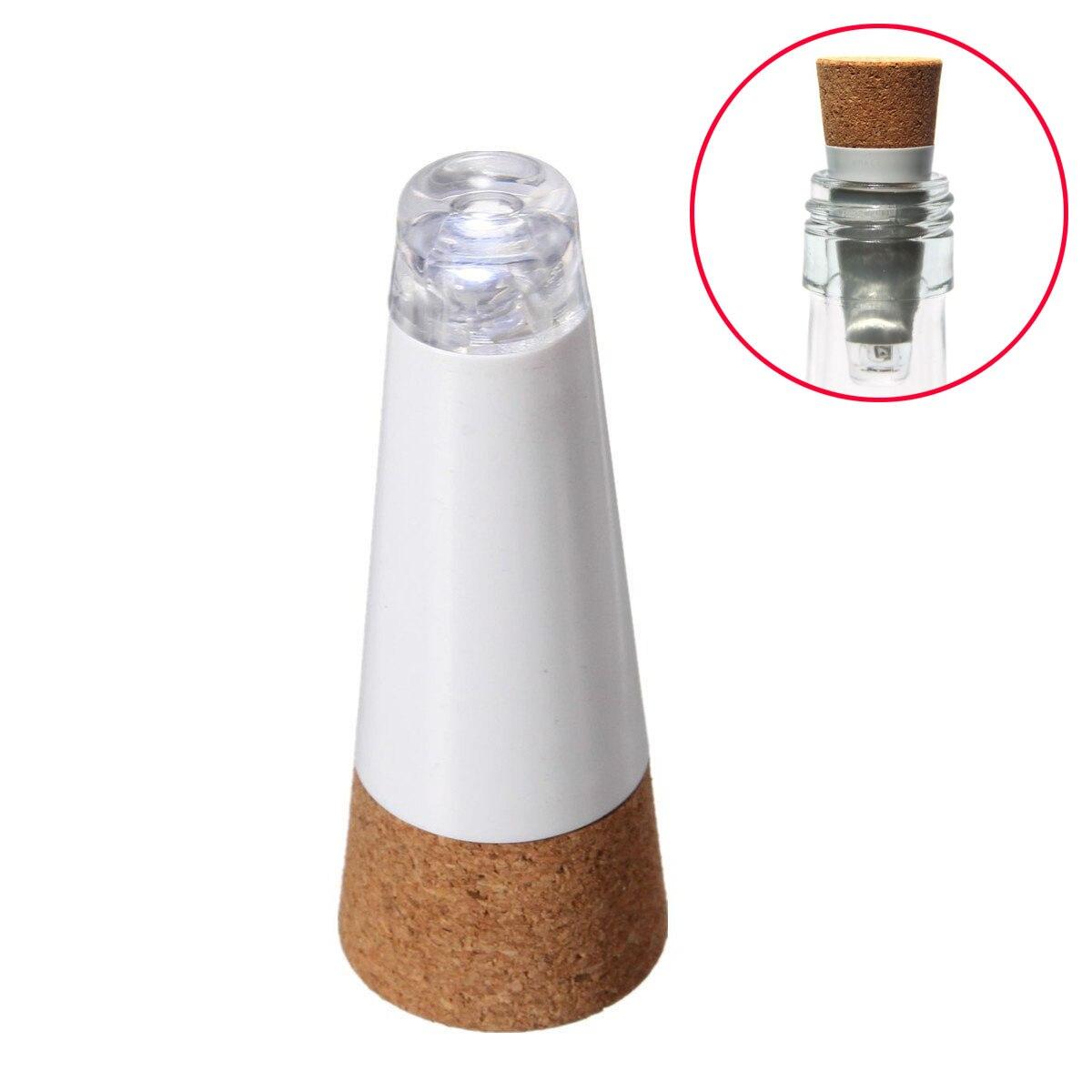 1 Pc Led Wein Flasche Nacht Licht Magie Cork Geformte Usb Aufladbare Korken Kappe Lampe Weihnachten Decor Kreative Romantische Weiß