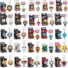 Funko POP Gantungan Kunci Marvel Avengers Hal Yang Aneh Deadpool Bunuh Diri Skuad Toy Story Rick Morty Game Of Thrones Mainan(China)