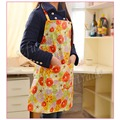 Promotion! Printing Flowers Floral Women Kitchen Cooking Aprons Waterproof Bib, Pocket Apron Free Shipping -42