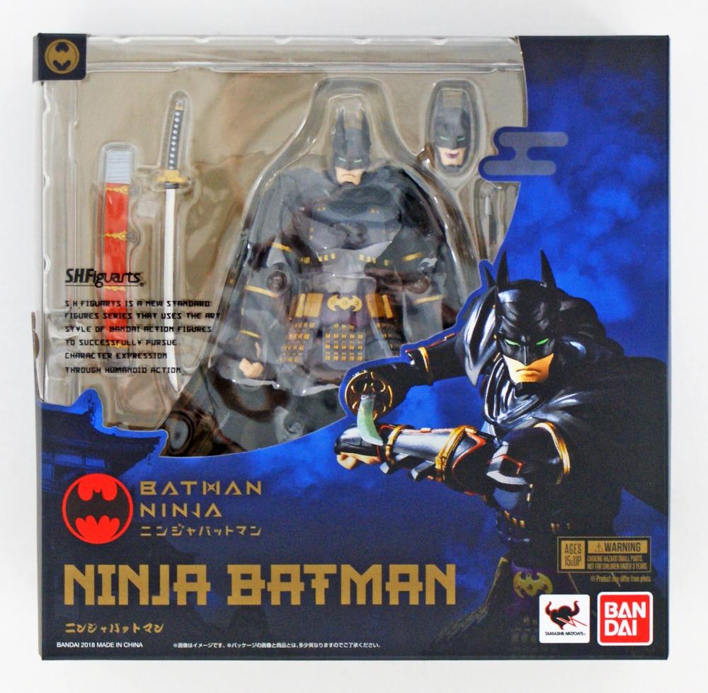 WSTXBD OriginalTamashii Nations S.H. Figuarts SHF Ninja Batman Justice League Action Figure Brinquedos Dolls Toys Figurals цена 2017
