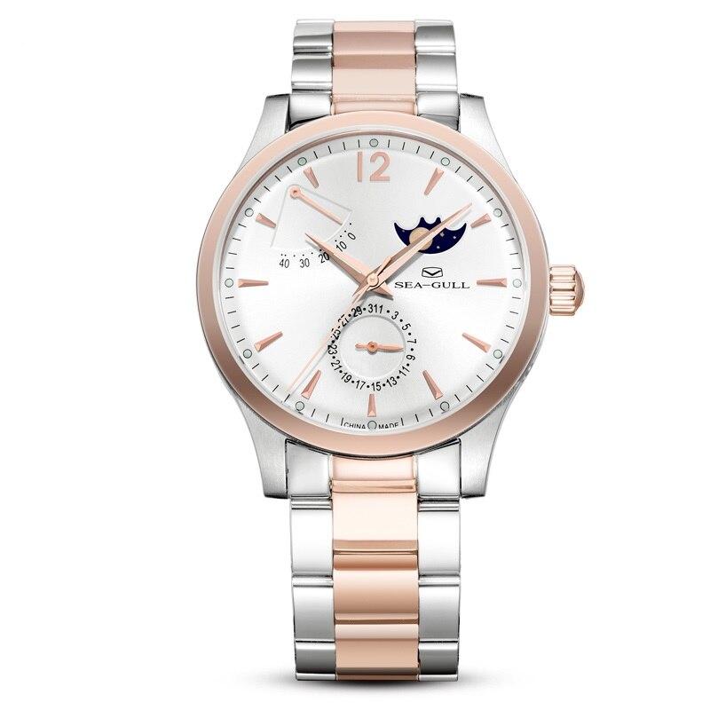 Для отдыха Автоматические Механические Натуральная кожа Водонепроницаемый часы с Рим цифровой Бизнес для различных случаев 217,423