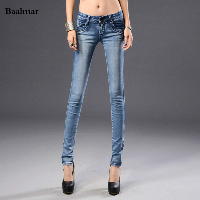 Jeans For Women Jeans With Mid Waist Jeans Woman High Elastic Plus Size Women Jeans Femme