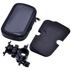 Image 3 - Wodoodporna rowerów telefon uchwyt na stojak na telefon wsparcie dla iPhone 4 5 6 Plus rower GPS uchwyt na telefon torba Moto Suporte para Celular