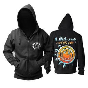 Image 1 - 13 projekt blink 182 bluza Cute Rabbit ilustracja odzież bluzy punk heavy metal Rock sudadera dres deskorolka