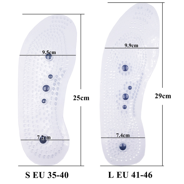 Magnetic Therapy Insoles for Slimming Weight Loss Foot Massage Health Care Shoes Mat Pad Acupuncture Shoe Sole insert 5