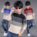 Foreign Trade 2017 Fall Winter Boys Assorted Color Knitted Sweaters Children Casual Knitwear Teenage Kids Pullovers Clothes G925