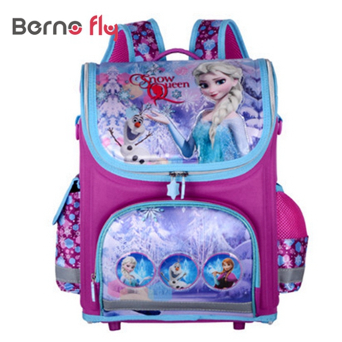 New Children Backpack Winx Monster Primary Bookbag Butterfly Girls School Bags Orthopedic Princess Schoolbags Mochila Infantil kindergarten new kids school backpack monster winx eva folded orthopedic baby school bags for boys and girls mochila infantil
