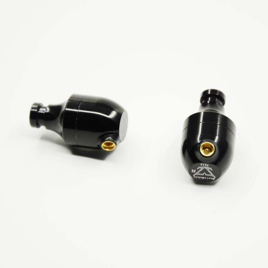 Nouveau TONEKING MusicMaker TK12s dynamiquement et BA 3 unité écouteur HIFI fièvre bricolage hybride dans l'oreille écouteurs comme K3003 avec câble MMCX - 4